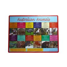 custom size shaped design printing pp commercial placemats