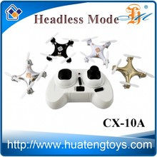Cheerson CX-10A 2.4G 4CH 6 Axis RC mini nano drone with camera CX10 RC quad copter CX-10 upgrade quadcopter