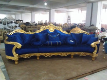 Fashioned blue velvet fabric sofas,indian sofas,indian sofas,cheap modern sofas