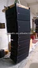 SPE AUDIO LA-6AD dual 12'' line array system 700W 2 way powered line array speaker