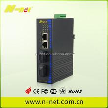 5 years warranty DIN Rail 4 port Gigabit Ethernet POE(30W) Industrial Switch