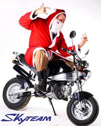 SKYTEAM 125CC 4 stroke PBR ZB50 KSR STYLE bike (EEC EUROIII EURO3 Approval)