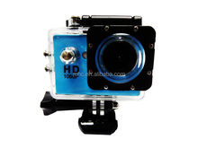 "WIFI Action Camera 12MP Full HD 1080P 30FPS 1.5""LCD Diving 30M Waterproof Sport DV"