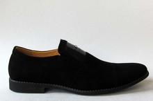 suede men dress shoes slip on men shoes rubber sole