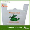 T- shirt gracias bolsas de plástico