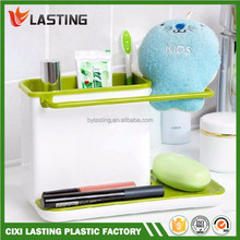 Self Draining Sink Tidy Sink Aid Organizer Brush Sponge Cleaning Cloth Holder Tidy Flower Type kitchen draining rack dishes