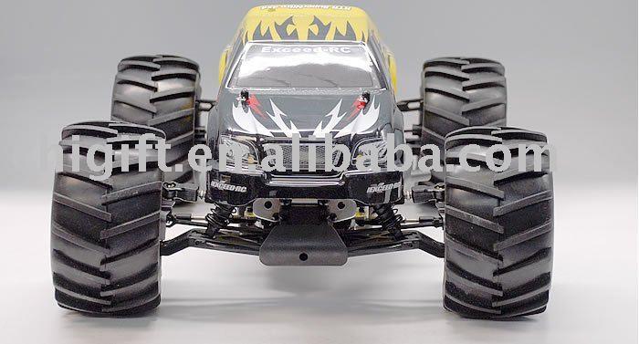 Rc Toy 1 / 8o escala Nitro monstruo camión