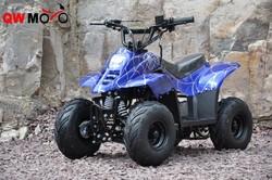 Cheap ATV Mini Quad 4 wheeler kids 110cc China ATV for sale With CE QWMOTO