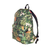 New Fashion Funny 3D Tropical Plant Full Print Sports bag Backpack Camping Bags