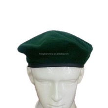 polyester cheap green military beret