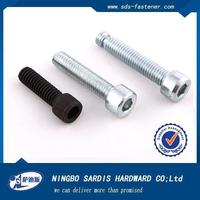 China manufacturer&exporter&supplier hexagon socket head cap screws with reduced head