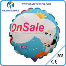 A3 size round photo balloons for party decoration