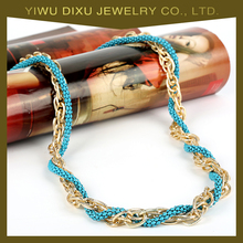 Best Selling Promotional Gold Chain Long necklace Simple Necklace Designs for Girls Women