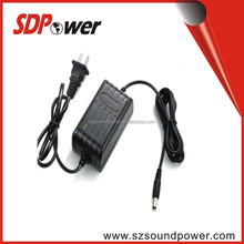 low cost CCD CCTV security camera power supply, power adapter 12V 1A 1.25A 1.5A 2A