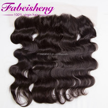 Alibaba express 13*4 body wave 100% Unprocessed wholesale Virgin Brazilian Hair frontal lace closure