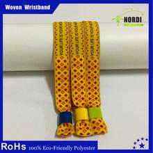 alibaba China woven bracelet fabric bracelet christmas ornaments wedding decoration