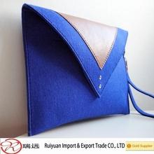 2015 New Fashionable 3 colors felt envelope case, envelope bag for promotional gift