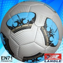 machine stitched synthetic promotion good quality soccer balls We supply pu stress footballs