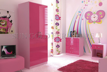 high gloss bedroom wardrobe closet / bedroom wardrobe designs (SZ-WD022)