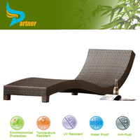 Hot Selling Indoor Outdoor Used Hotel Pool Furniture Portable Beach Sun Lounger