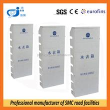 waterproof non-iron fiberglass composite water meter box