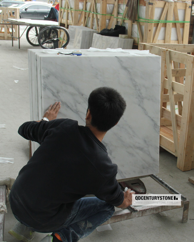 Polished Royal White Marble X Inch Floor Tiles Buy Floor Tiles - 36 inch marble tile