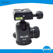 suction cup with screw 360 degree Swivel camera Flash Stand ball head