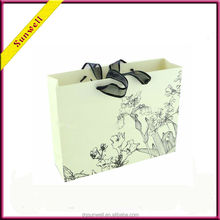 China New Products Wholesale paper bag&customized paper gift bag recycle printed package
