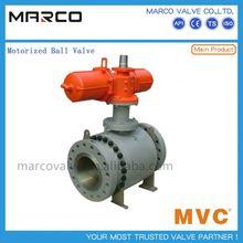 Alto rendimiento casting y forja desnudo eje o automático actuador eléctrico motorizado válvula de bola