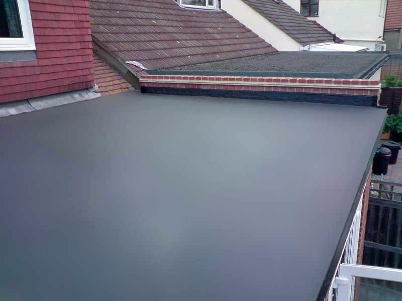 Bas prix epdm en caoutchouc tanche membrane pour toit for Piscine caoutchouc construction