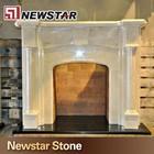 novo design de pedra casa lareira decoração