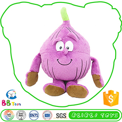 Most Popular Factory Price Soft Plush Fruits And Vegetable