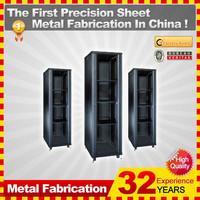 42U 600x800mm network cabinet with front glass door