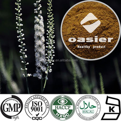 100% pure nature high quality black cohosh root extract 2.5%-8% Triterpene Glycosides