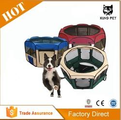 [KIND PET] fabric folding pet dog playpen indoor