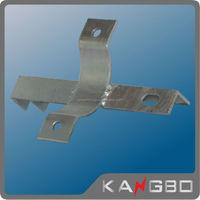 Galvanized steel wall hanging brackets