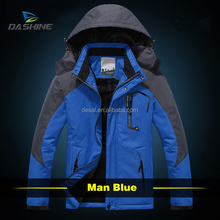 new style rechargeable battery heated jacket and snow jacket mens 2015