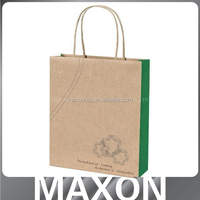 China factory offer High level!!! santa pattern paper bag for store