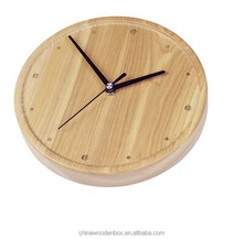 2015 popular refined 8'' wooden clock