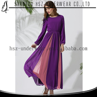 MD10014 Folk style modest islamic clothing for women cheap pretty modest islamic clothing