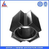 OEM design extrude aluminium extrusion case with cnc machining by china aluminum manufacturer