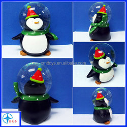 christma custom crafts wholesale action figures/lovely snow globe