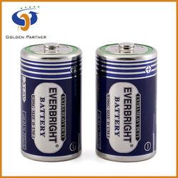 D metal jacket r20 dry battery 1.5v um1 dry battery factory
