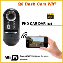 "Full hd 1080p mini 1.5"" car dash dvr recorder camera wifi car, video recorder dash cam c07 gps wifi"