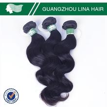 Great reputation fashion unprocessed burgundy remy hair weave