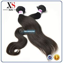 100% natural hot indian clip in hair extensions coarse indian hair