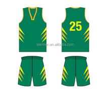 wholesale custom youth basketball team wear