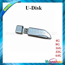 Waterproof Train Shape USB Flash Drive 8GB