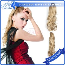 Wholesale 100 kanekalon synthetic heat resistant hair piece ponytail, hair closure piece fringe hair bangs, mens hair piece