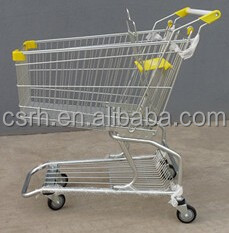 RH-SM080 80L 860*520*980mm 4''Pvc Wheel American Supermarke Trolley